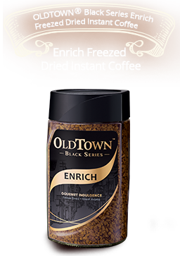 OLDTOWN Black Series Enrich Freezed Dried Instant Coffee