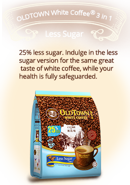 OldTown White Coffee™3in1 Less Sugar