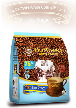 OldTown White Coffee™ 3in1 Less Sugar