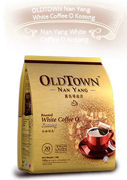 OLDTOWN Nan Yang White Coffee O Kosong