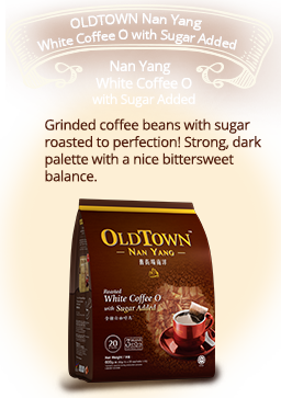 OLDTOWN Nan Yang White Coffee O Kosong with Sugar Added